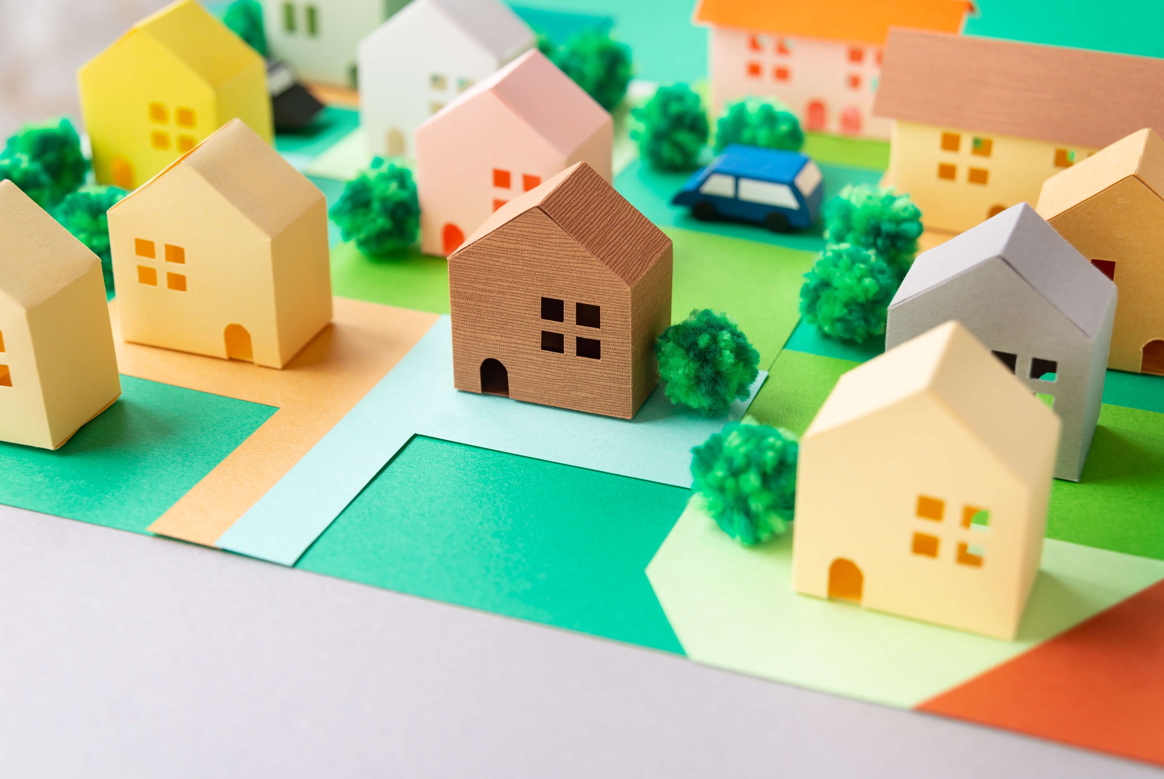 グリーン住宅ポイントで家を建てるイメージ