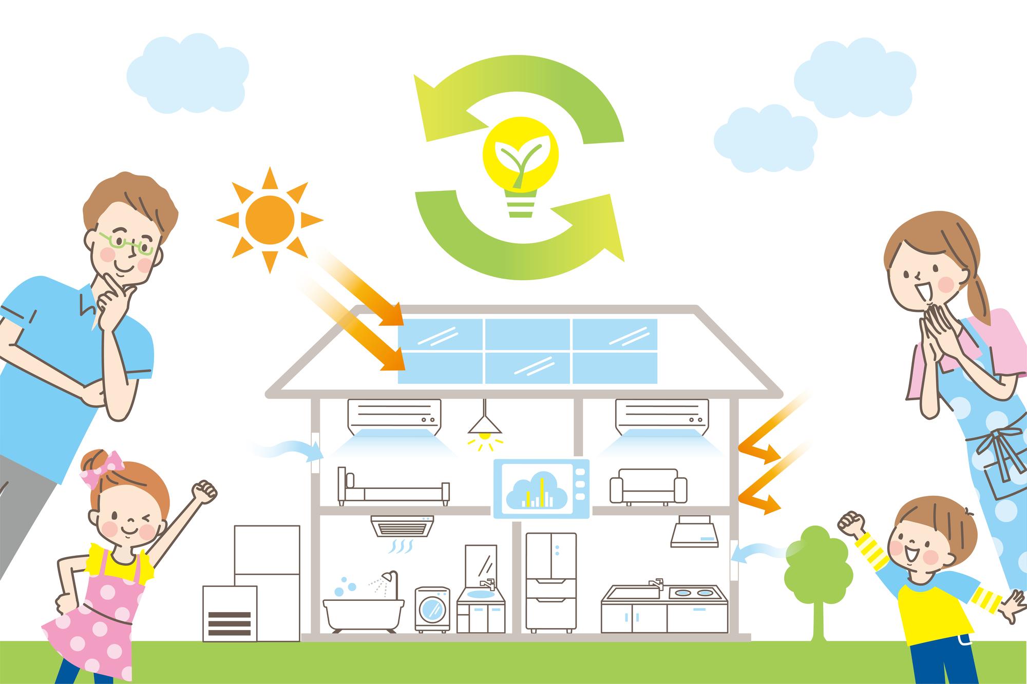 【2021年】グリーン住宅ポイントでエコに暮らそう!対象設備・商品とは?